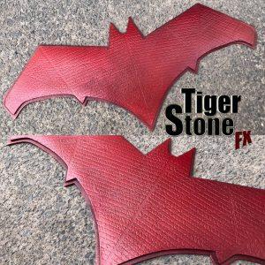 Red Hood - Batman V Superman mashup emblem - made by Tiger Stone FX