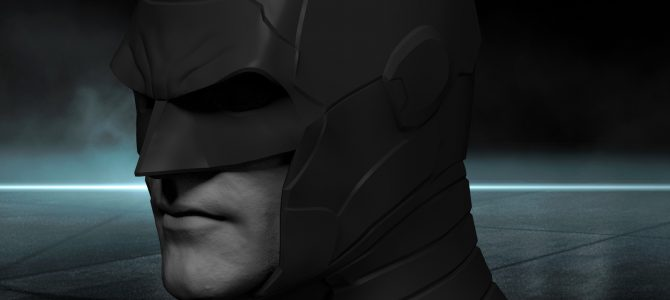 Current projects: Armored Batman cowl
