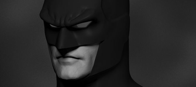 "Current projects: Original design ""GD"" Batman cowl"