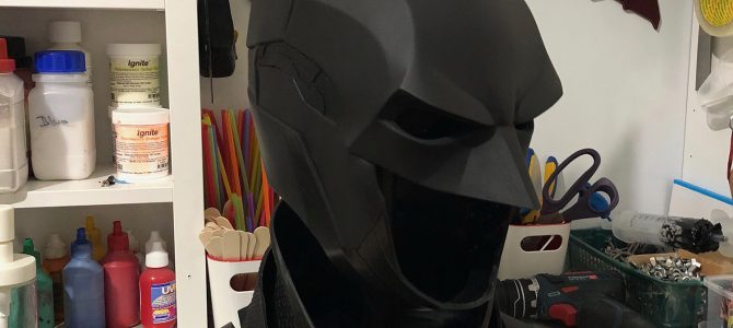 Still love making and seeing these…. Our Batman Arkham Knight cowl :)