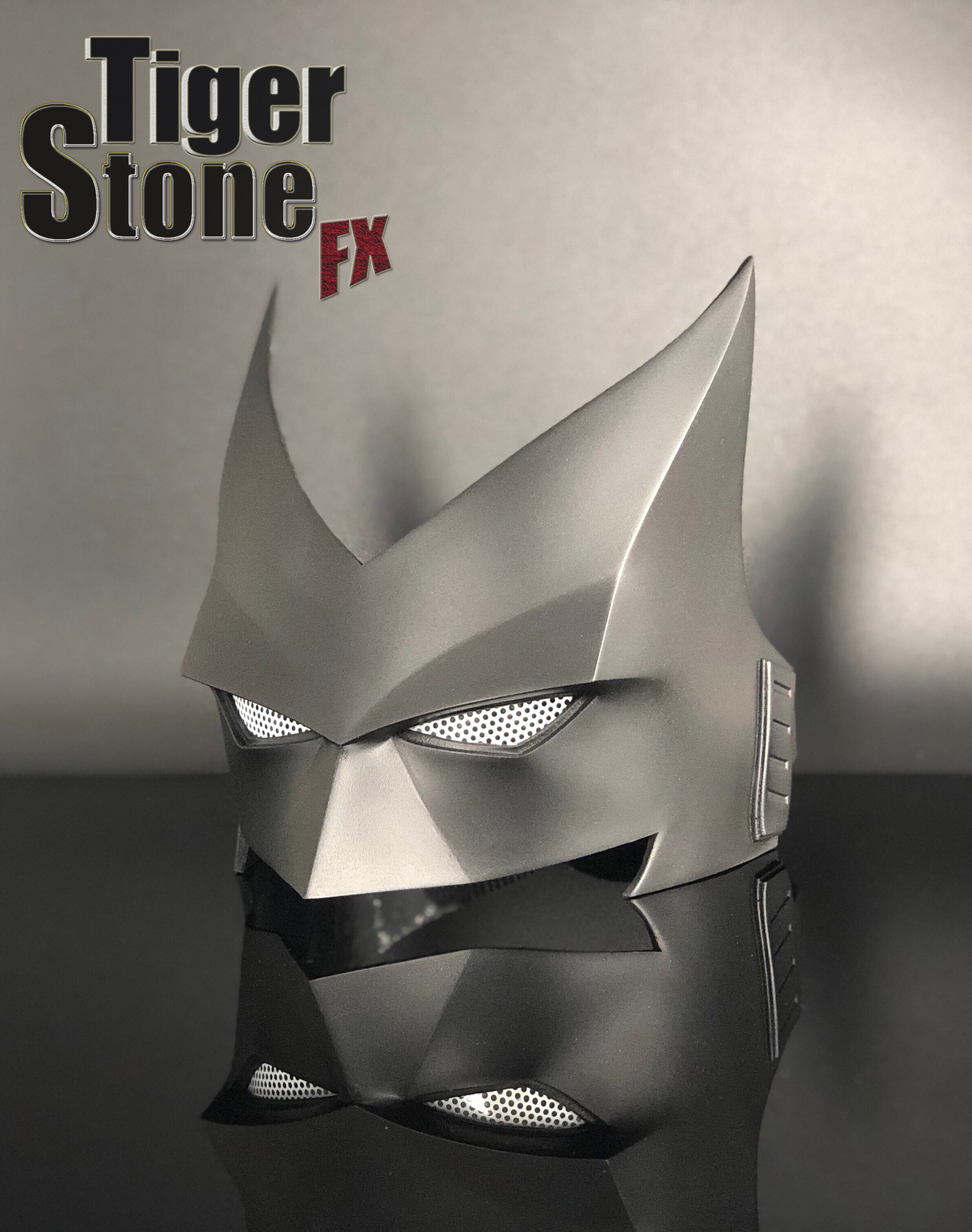 Batwoman mask for your cosplay costume -- by Tiger Stone FX