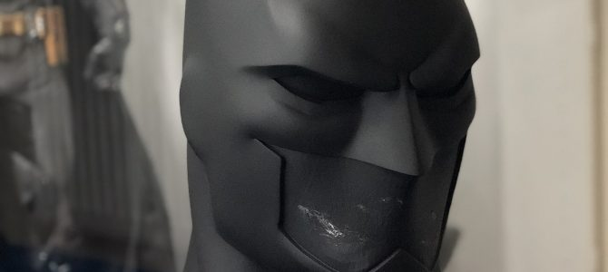 Current project: Our smaller Justice League War / Animated movies Batman cowl
