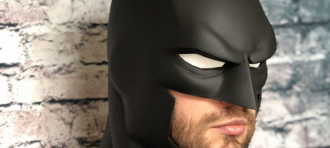 Our smaller Justice League War / Animated movies Batman cowl