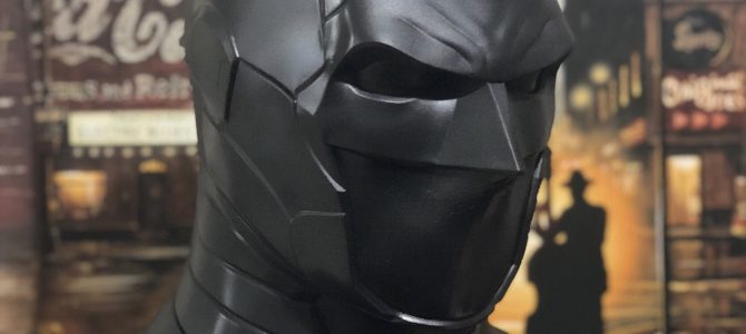 Currently working on: our new armored Batman cowl
