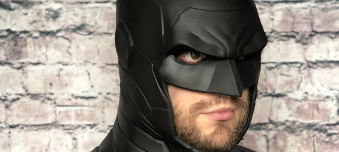Our new armored Batman cowl