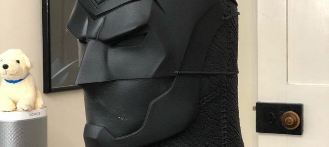 Custom commission update: Batman Ninja cowl