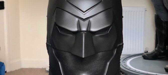 Batman Ninja cowl – ready to mold (custom commission update)