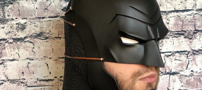 Our Batman Ninja cowl & gauntlets (finished custom commission)