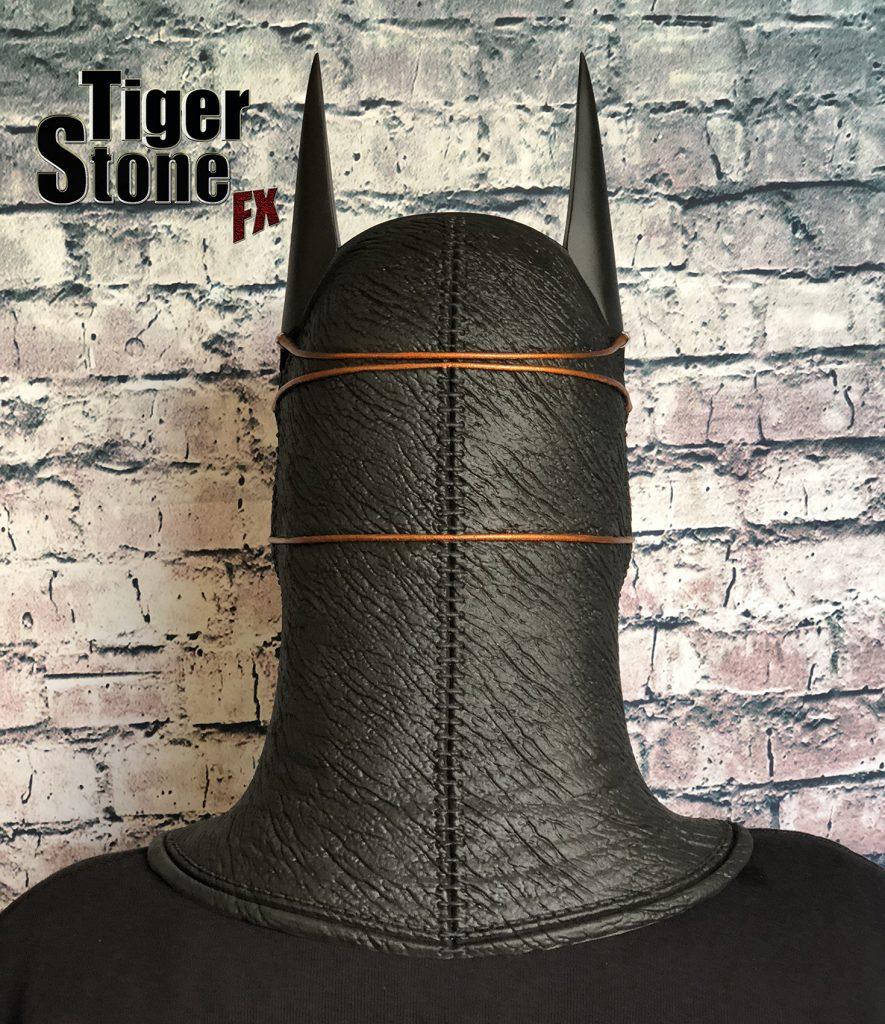 Batman Ninja cowl mask for your cosplay costume (back) Samurai - made by Tiger Stone FX