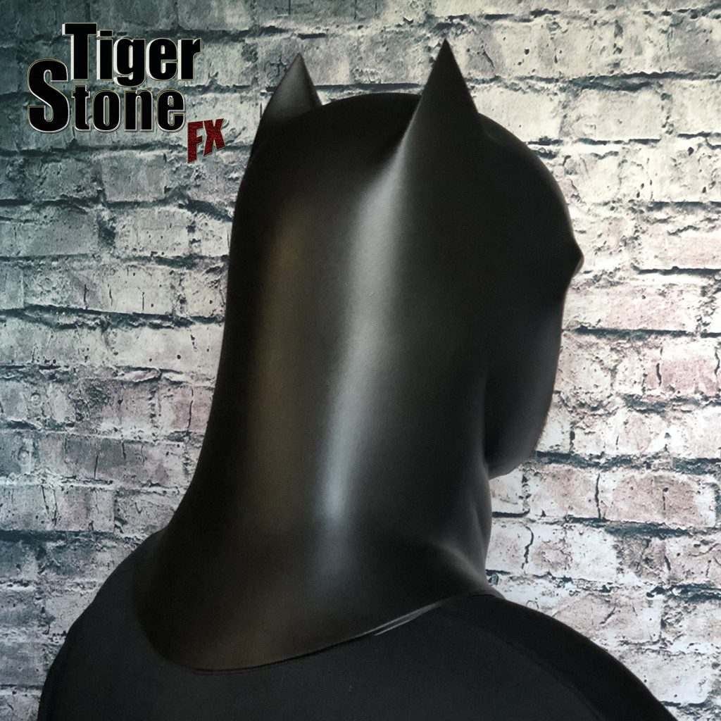 Capullo Batman cowl for your cosplay New 52 Rebirth Metal (back) Court of owls - made by Tiger Stone FX