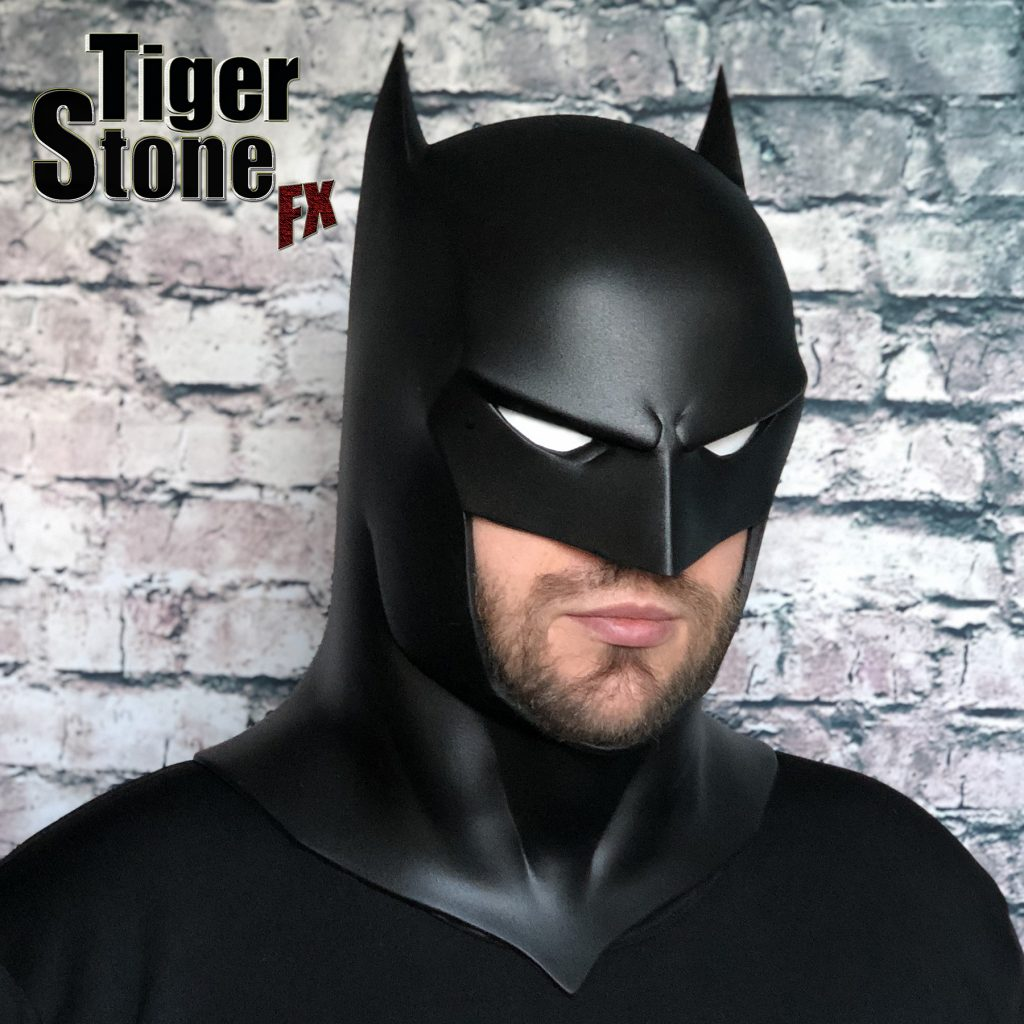 Capullo Batman cowl mask for your cosplay New 52 Rebirth Metal (left, down) Court of owls - made by Tiger Stone FX