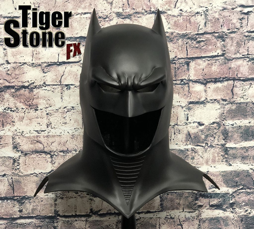 GD Batman cowl : mask (front, cowl only) -- original design (made) by Tiger Stone FX