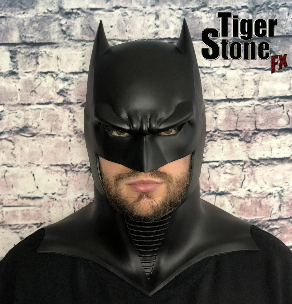 GD Batman cowl : mask-- original design (made) by Tiger Stone FX