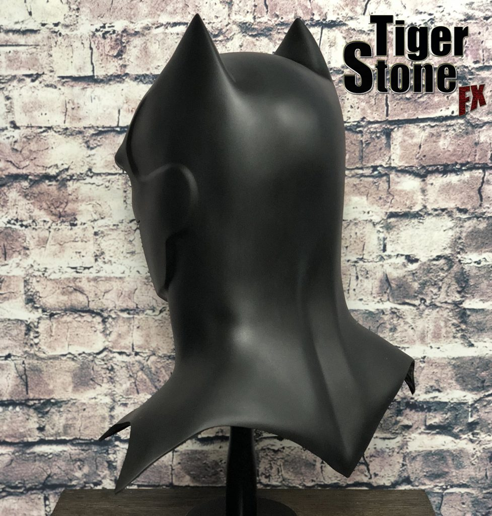 GD Batman cowl : mask (side back) -- original design (made) by Tiger Stone FX