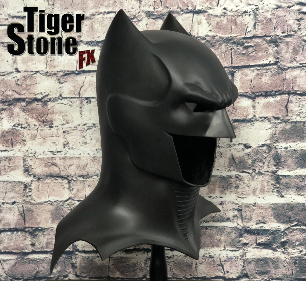GD Batman cowl : mask (side) -- original design (made) by Tiger Stone FX