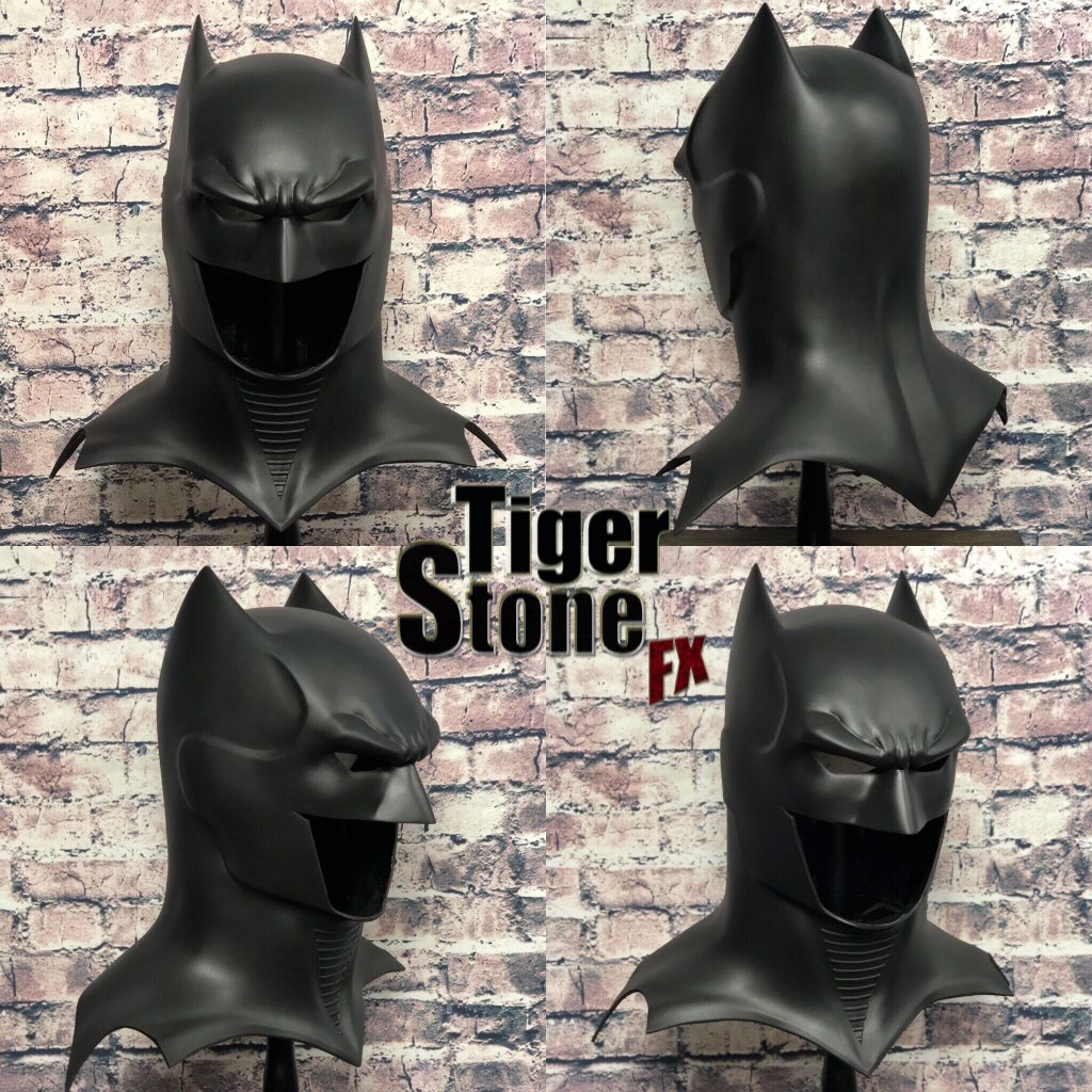 GD Batman cowl : mask(multiple angles) -- original design (made) by Tiger Stone FX