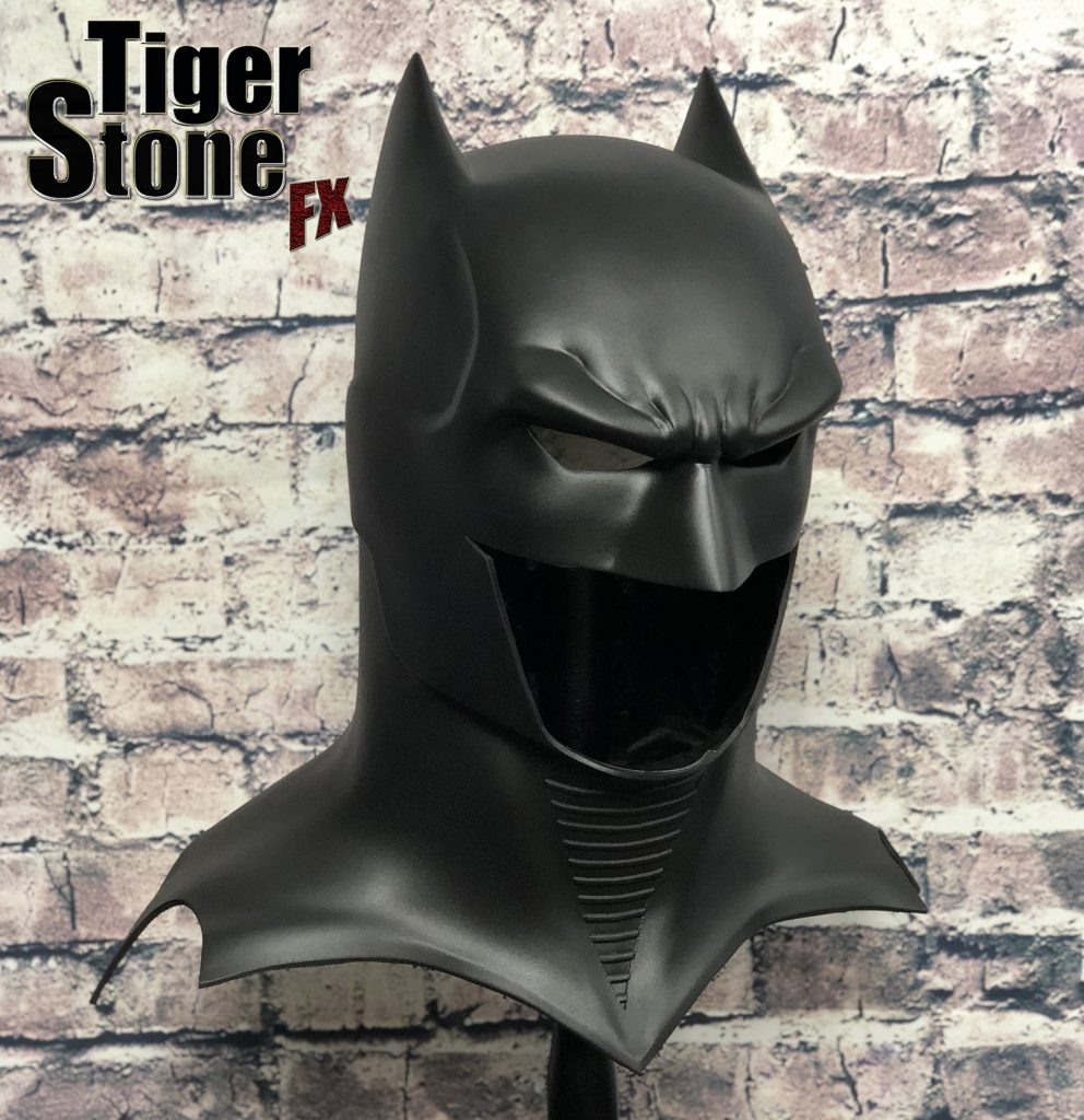 GD Batman cowl : mask(side front) -- original design (made) by Tiger Stone FX