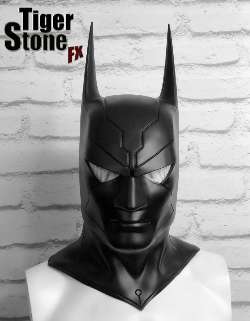 Batman Beyond cowl made by Tiger Stone FX