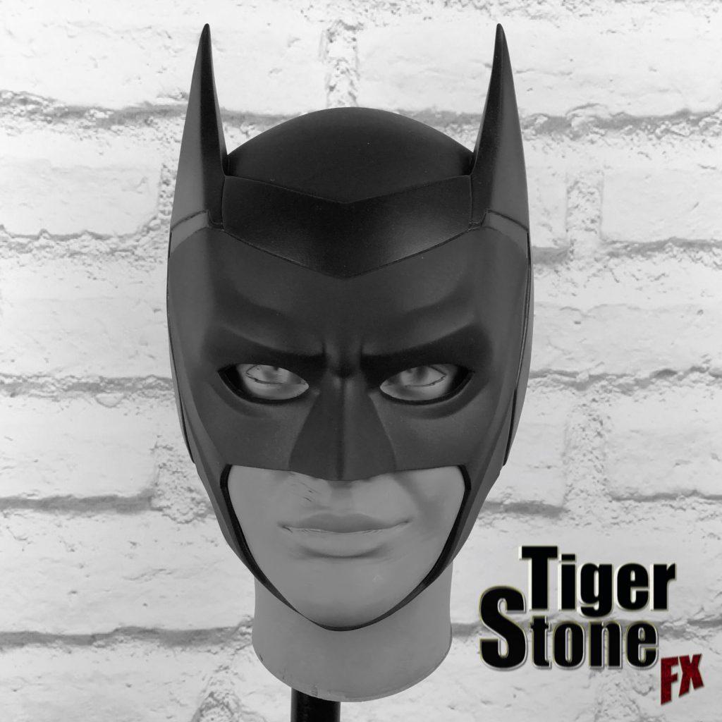 CW Batwoman cowl mask (Ruby Rose Batwoman) - handmade by Tiger Stone FX